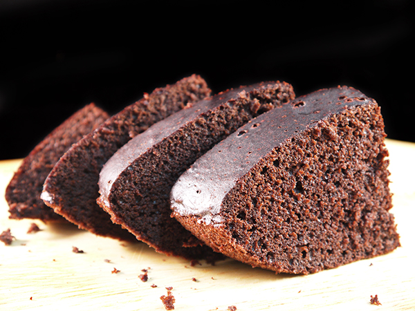 Homemade Sugar Free Steamed Cocoa Cake
