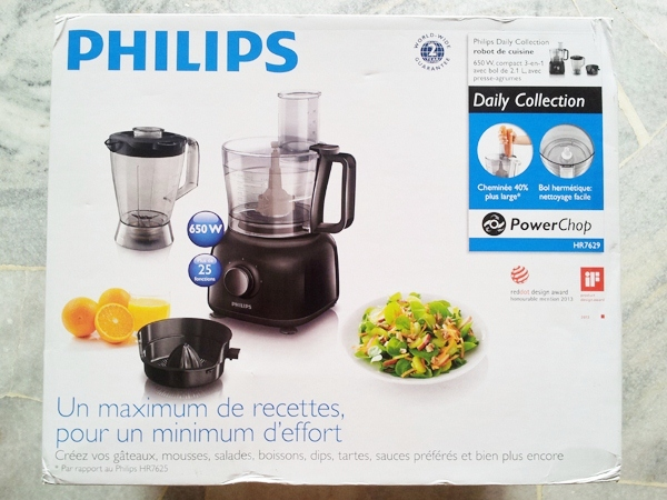 Philips Food Processor Hr7629 91 Product Box