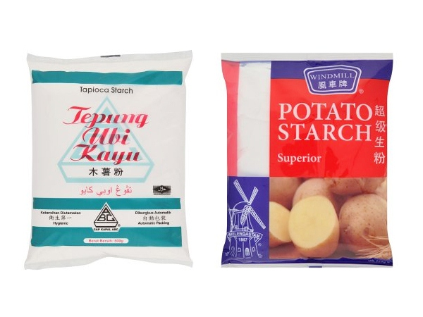 Tapioca Flour and Potato Starch