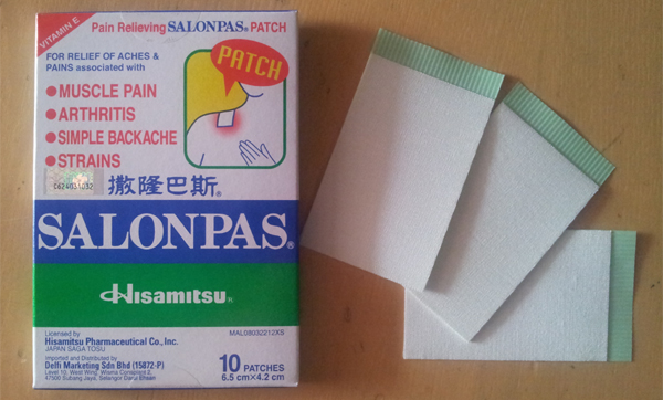 Salonpas Pain Relieving Patch