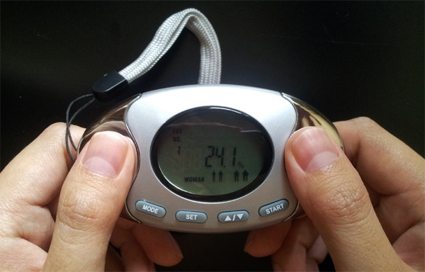 2 in 1 Pedometer with Fat Analyzer Review