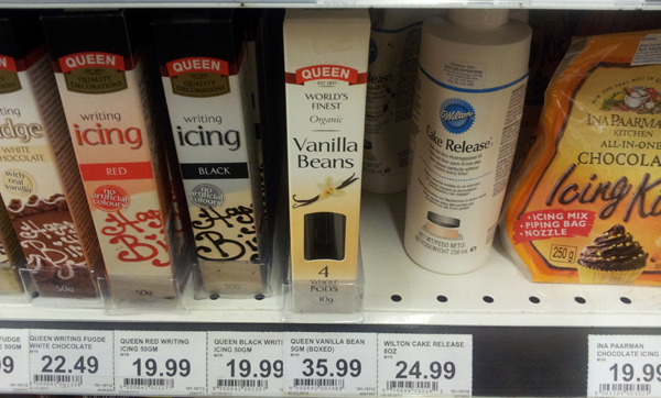 Queen Organic Vanilla Beans