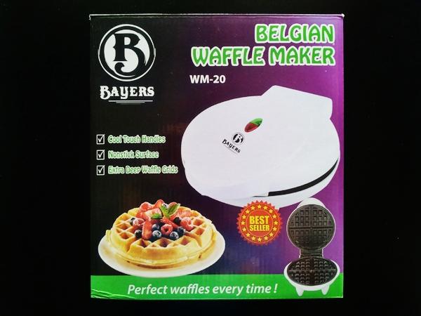 Bayers Belgian Waffle Maker Product Box