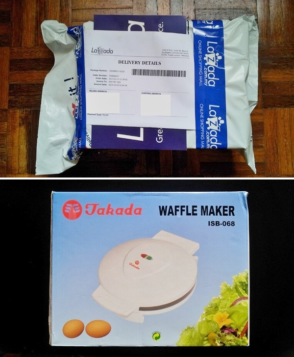 Where to buy Takada Waffle Maker
