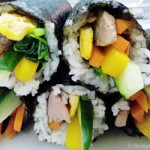 Korean Dried Seaweed Rice Rolls (Kimbap) Recipe