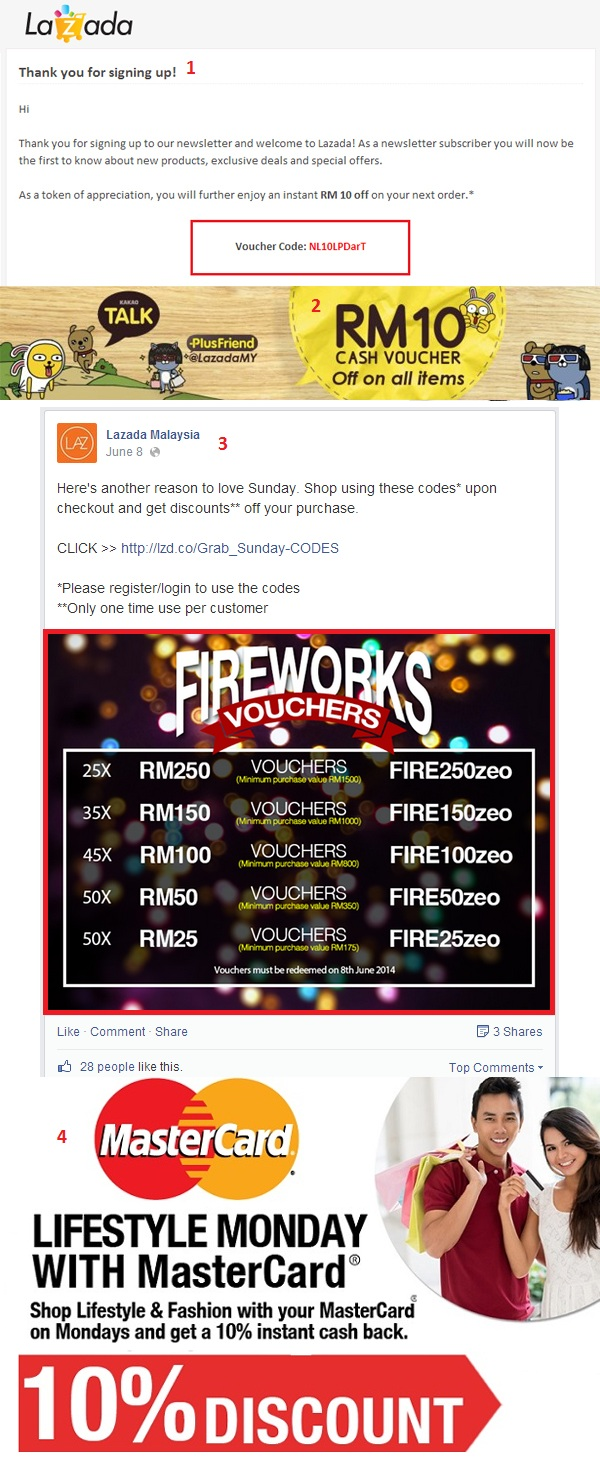 Ways to save money on Lazada Malaysia: Lazada App Coupon Voucher Code