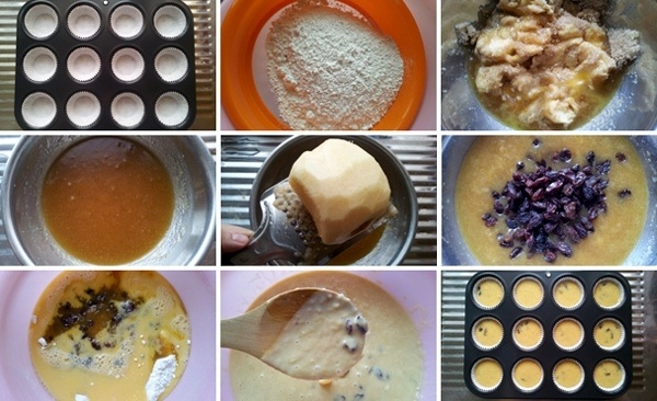 How to make Apple and Raisin Cupcakes