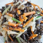 Stir-Fried White Radish with Black Fungus Recipe for Weight Loss