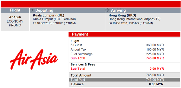 Cheap Flight to Hong Kong