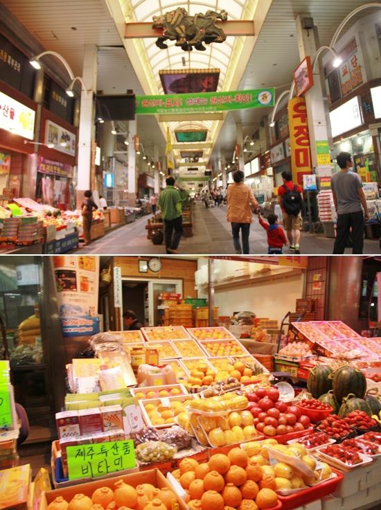 Jeju Island Attractions: Traditional Market in Jeju