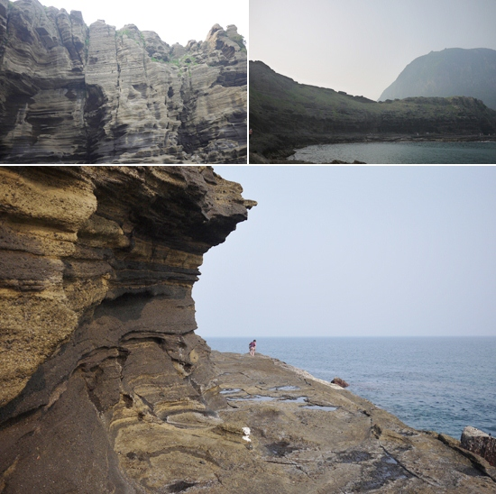 Jeju Island Attractions: Yongmeori Coast 용머리해안