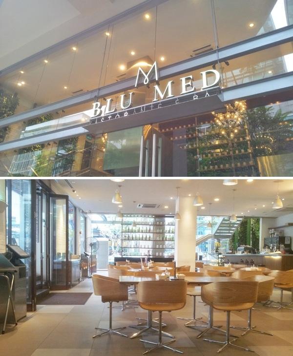 Blu Med Restaurant Review