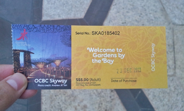 Garden By The Bay Admission Ticket gardensthe bay | how to get to gardensthe bay - chen's blog