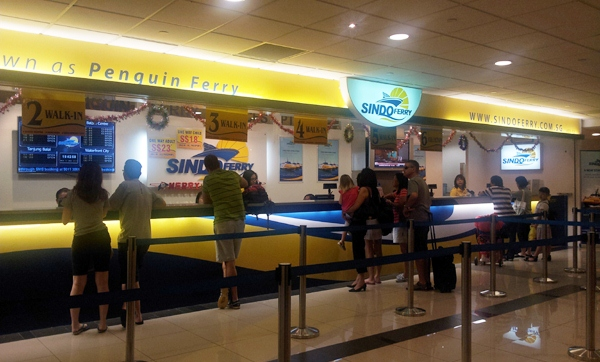 Sindo Ferry Counter at HarbourFront Centre