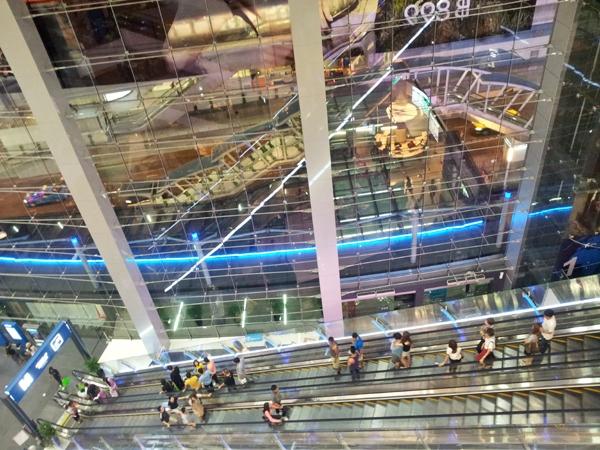 Terminal 21 Shopping Mall Bangkok Thailand