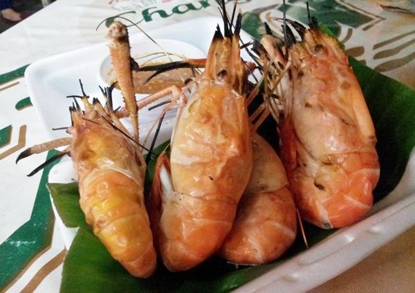 Thai Grilled Prawn