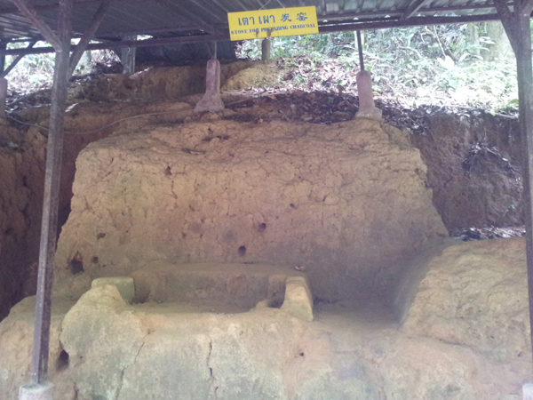 Piyamit Tunnel Stove for preparing charcoal